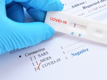 Negative test result by using rapid test device for COVID-19, novel coronavirus 2019 found in Wuhan, China